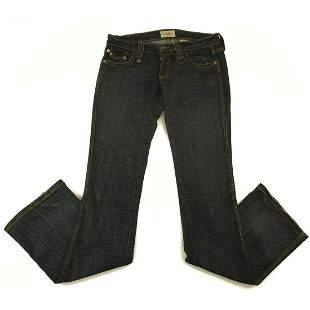 Frankie B Medium Blue Jeans Denim Pants sz 4