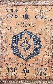 Antique Sirjan Persian Area Rug 5x8
