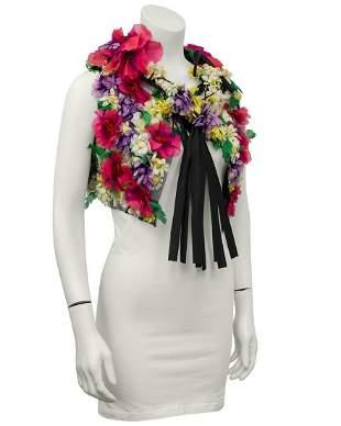Adolfo Floral 3D Vest