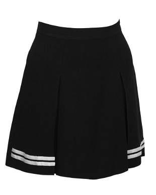 Dolce & Gabbana Black and White Mini Skort