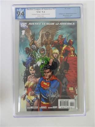 Justice League of America #1 PGX 9.4 'Michael Turner'