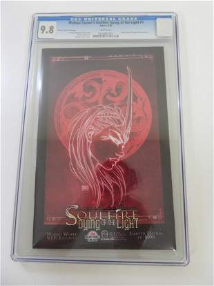 Michael Turner's Soulfire: Dying of the Light #1 CGC