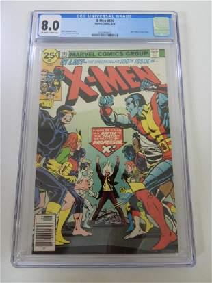 X-Men #100 CGC 8.0