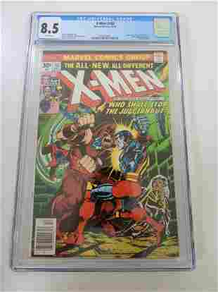 X-Men #102 CGC 8.5