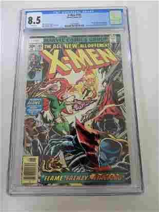 X-Men #105 CGC 8.5
