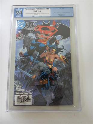 Superman/Batman #10 PGX 9.4 'Turner, Steigerwald & Jim