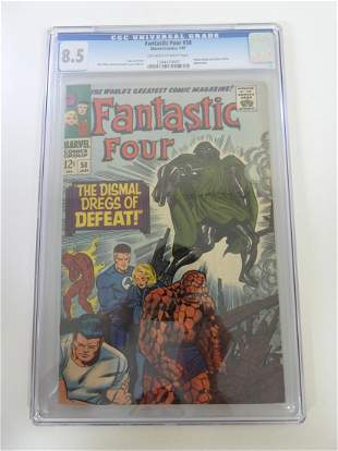 Fantastic Four #58 CGC 8.5
