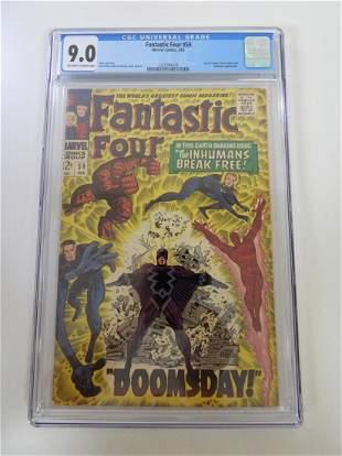 Fantastic Four #59 CGC 9.0
