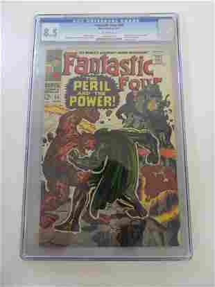 Fantastic Four #60 CGC 8.5