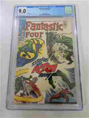 Fantastic Four #71 CGC 9.0