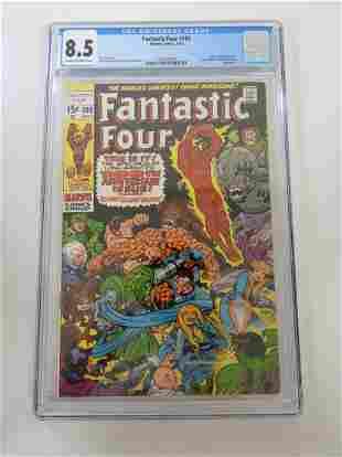 Fantastic Four #100 CGC 8.5
