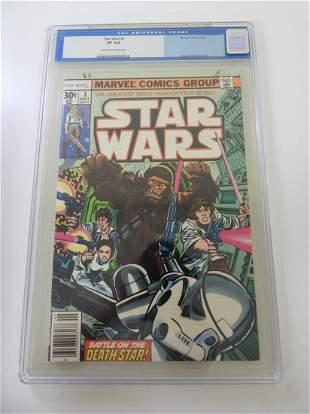 Star Wars #3 CGC 8.0