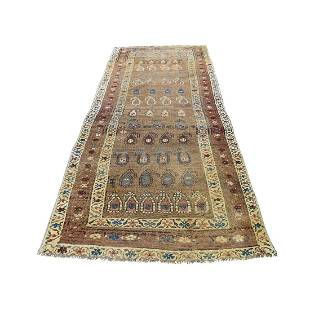 Antique Persian North West Boteh Design Camel Hair Wide