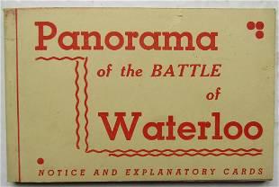 Panorama of the Battle of Waterloo