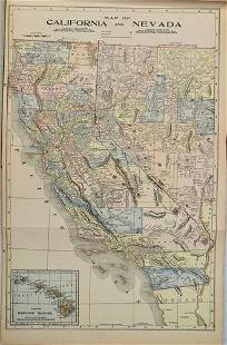 1897 Crowell & Kirkpatrick Map of Alaska [verso]