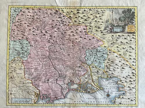 Italian region of Friuli. By G. Albrizza. 1740/1750.