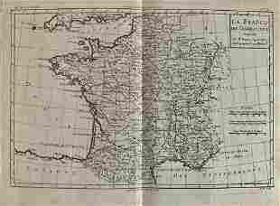 France by Bonne/ Raynal 1780