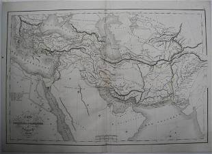 Carte Des Conquetes D'alexandre
