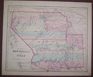 Territories of New Mexico and Utah