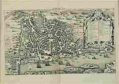 1749 Bellin View of Goa -- Plan de Goa