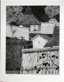 RYOHEI TANAKA (1933 - 2019) - HATAGO IN AUTUMN