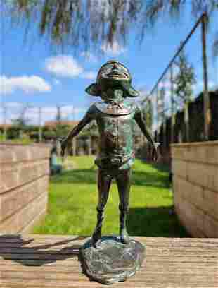 Forest elf - Bronze gnome - Bronze fairy - Bronze gift