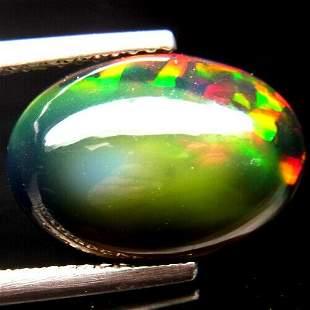 3,26 ct Natural Rainbow Black Opal 3,26 ct
