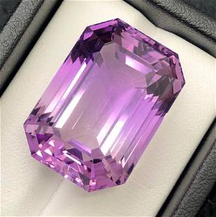46 Carats Natural Purple Amethyst ~ 25x17x14 MM
