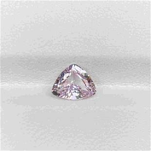 Natural Unheated Pink Spinel 1.80 Cts Trillion Cut
