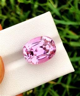 Pink Kunzite Loose Gemstone From Afghanistan - 14.50