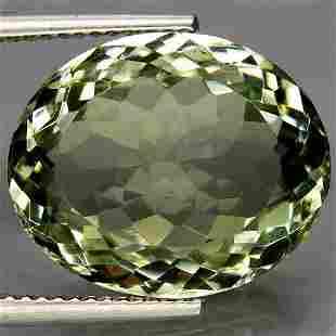 13,63 ct Natural Green Amethyst 13,63 ct