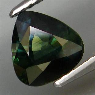 1,91 ct UNHEATED! Natural Blue Green Sapphire 1,91 ct