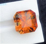 28 Carats Beautiful Topaz Assher Cut ~ 17x17x13 MM