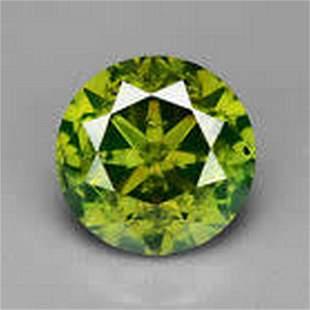 Natural Fancy Diamond Green 0.52ct