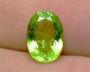 Natural Luminous Green Peridot Untreated