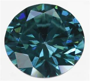 Natural Fancy Diamond Blue 0.17ct with Certificate