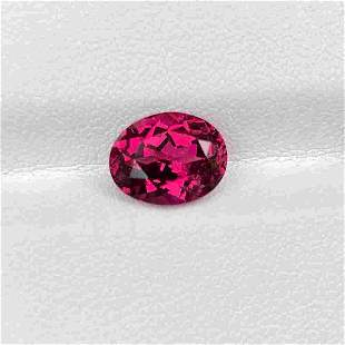 Natural Unheated Rose Pink Garnet 3.61 Cts Oval Cut