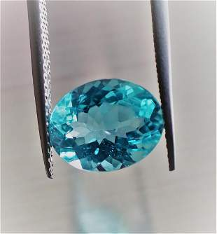 Apatite 8 x 10 MM Certified- 2.53 ct