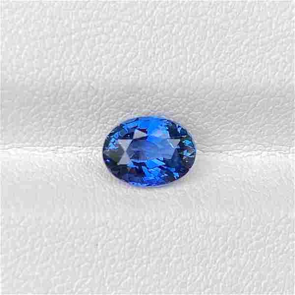 Natural Blue Sapphire 1.83 Cts Oval Cut Loose Gemstone