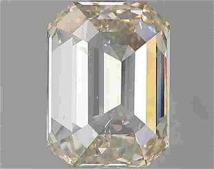2.01 Ct White Emerald Diamond Loose Gemstone 1 Pieces