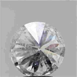 3.52 Ct White Round Diamond Loose Gemstone 1 Pieces