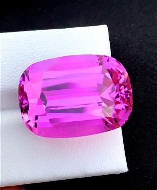 Natural Pink Kunzite Gemstone - 41.60 cts , 23*16*14 mm