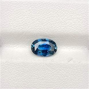 Natural Blue Sapphire 2.11 Cts Oval Cut Loose Gemstone
