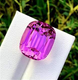 Natural Pink Kunzite Gemstone - 31.55 cts , 18*15*14 mm