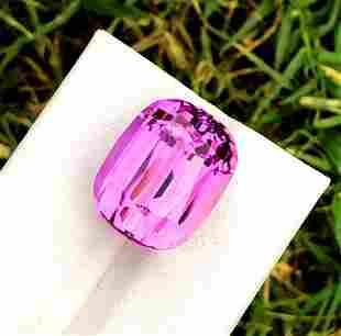 Natural Pink Kunzite Gemstone - 22.05 cts , 17*13*7 mm