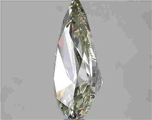 2.01 Carat White Pear Diamond Loose Gemstone 1 Pieces