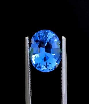 Aquamarine Gemstone , Aquamarine - 5.30 cts , 13*10*8