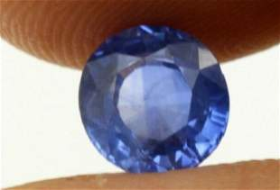 1,50 ct Unheated! Natural Blue Saphhire IGIreport 1,50