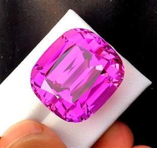 Natural Pink Kunzite Gemstone - 80.80 cts , 24*22*20 mm