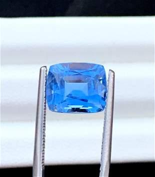Aquamarine Gemstone , Aquamarine - 5.90 cts , 10*10*8